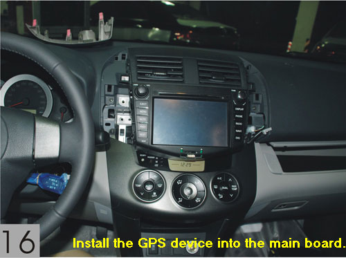 Installation guide for Toyota dvd gps