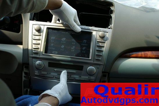 video player for Toyota camty