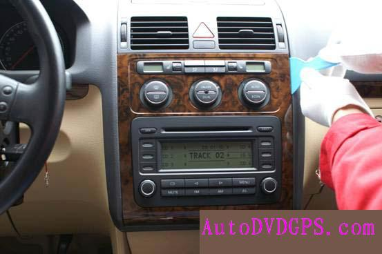Volkswagen Touran gps unit