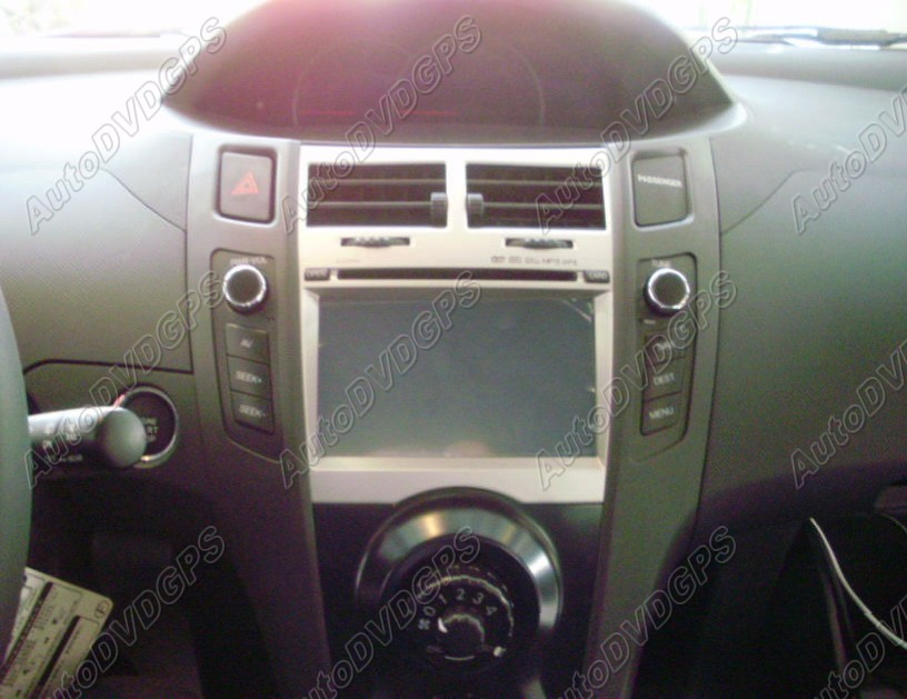 how to install a toyota yaris gps navigation system. Black Bedroom Furniture Sets. Home Design Ideas