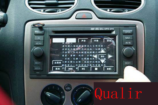 Ford Focus indash gps stereo