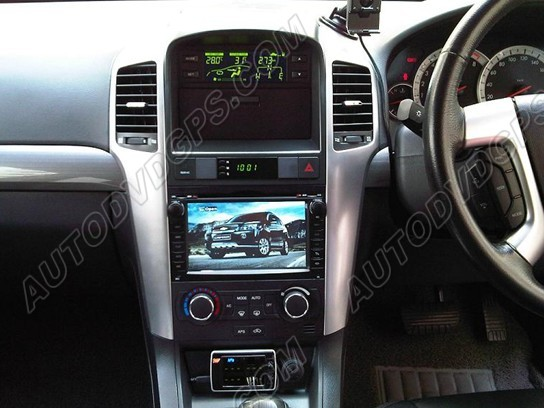 How To Install A Chevrolet Captiva Gps Dvd Player