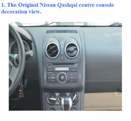 how to install nissan qashqai dvd gps navi player share the knownledge. Black Bedroom Furniture Sets. Home Design Ideas