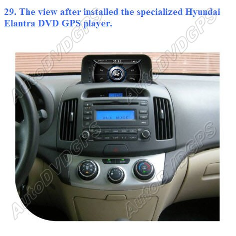 How To Install Car Dvd Gps Player On Hyundai Elantra