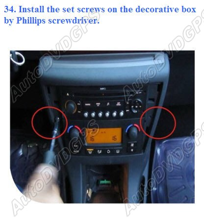 How To Install Car Dvd Gps Player On Your Citroen C4