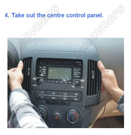 how to install hyundai i30 car dvd gps navi system. Black Bedroom Furniture Sets. Home Design Ideas