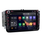 8 Inch Android 4.4 Car DVD Player GPS Stereo Navigation Wifi 3G DVR BT 1080P For VW TIGUAN 2007-2013