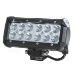 Rupse 7INCH 36W CREE LED WORK LIGHT BAR Lamp for Motorcycle Tractor Boat Off Road 4WD 4x4 Truck SUV ATV Spot Flood 12v 24v