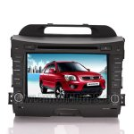 8 Inch Car DVD GPS Player + ipod+ RDS + BT + SWC For 2010 2011 Kia Sportage