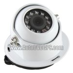 White Bus Truck Waterproof CCD/NTSC Backup Camera/ Night Version