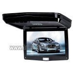 9inch Slim Roof-mounted DVD Player Monitor With Touch Keys Black