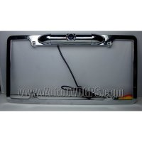 License Plate Camera Zinc Metal Chrome with 0.3 Lux at F2-Inch