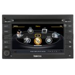 VW Golf IV Navigation System With 3 Zone POP/3G/WIFI/20 Disc CDC/DVD Recording/Phonebook/Game Functions