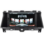 Upgrade Multimedia Navigation System with 8-Inch TFT-LCD Touchscreen Monitor and Bluetooth Function Support 1080P video for 2008 - 2012 America and Australian Honda ACCORD