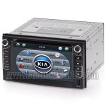 2DIN DVD GPS player and Bluetooth iPod RDS SWC with Digital HD touchscreen for KIA Carnival