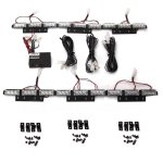 54 LED Emergency Vehicle Strobe Lights/Lightbars Deck Dash Grille, White