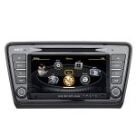 Car DVD GPS Navigation With dual-core/3Zone POP 3G/WIFI/20 Disc CDC/ DVD Recording/ Phonebook / Game For 2013 Skoda Octavia