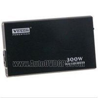 BestWit VM300A 300W, Slim Car Power Inverter, Black Colour