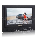Lilliput 5D-II/P 7 TFT LCD HDMI Monitor PEAKING Canon 5D Mark II 5d2 with Cable and Shoe Mount