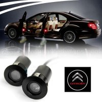LED Car Welcome Light Laser Logo Light For Citroen