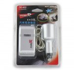 TYPE-R 4-Way, Car Cigarette Lighter Socket Splitter