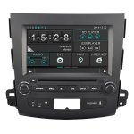 8 Inch Car DVD GPS Player for 2006 07 08 09 10 11 Mitsubishi Outlander with Bluetooth Phone book and Music