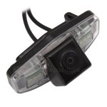 Car Reverse Rearview NTSC CMOS camera for Honda Accord 08 +Guard Line