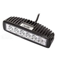 18W LED Offroad Work Light Worklamp Flood Spot Beam 12V 24V ATV SUV Jeep Mine Boat Lamp