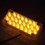88 LED Amber Flashing Emergency Strobe Lights for Front Grille/Deck