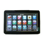 5.0 inch Touch Screen GPS Navigation, Navigator with FM Radio