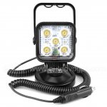 15W Led Search Light Spot Work Light With Magnetic Base For Hummer Jeep And Other Off-road Vehicles or Trucks Boat