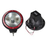 "1 Pair 7"" HID Off Road Flood Light Xenon 35W- 6000K- Jeep and Truck"