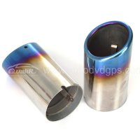 CHROME EXHAUST TIP For VW Golf 6 MK6 variant, Jetta Sportwagen 2009-2013