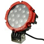 Rupse LED Work Light 7 Inch 51W 9V-30V for Motorcycle Tractor Truck Trailer SUV Off roads Boat