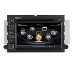 Car DVD GPS Navigation With dual-core/3Zone POP 3G/WIFI/20 Disc CDC/ DVD Recording/ Phonebook / Game For Ford Edge