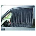 2xBLACK Car Curtain/Auto Window Shade Small Size