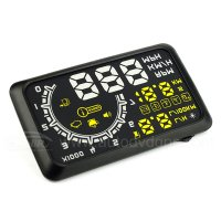 Universal Car HUD Vehicle OBD-2 Fuel Icon Head Up Display LCD