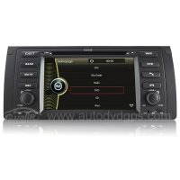 DVD Navigation System with 7 Inch HD touchcreen Bluetooth for BMW 5-E39/BMW X5-E53 520i 523i 525i 528i 530i 535i 540i