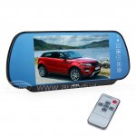 "7"" Car Rear View Mirror Monitor +OSD Menu +Bluetooth + Automatic Car-backing Function"