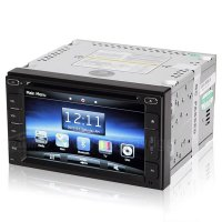 6.2 Inch Car DVD GPS Navigation player with Digital HD touchscreen bluetooth Phonebook for Nissan Series
