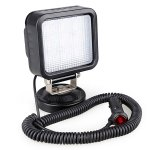 27W LED Search Light Spot Work Light With Magnetic Base For Hummer Jeep And Other Off-road Vehicles or Trucks Boat