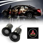 LED Car Welcome Light Laser Logo Light For Mitsubishi