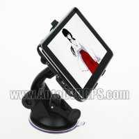 5.0 inch HD touch screen GPS Navigation, automotive GPS receiver