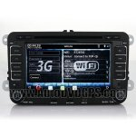 Indash 3G WIFI DVD GPS player with Digital Monitor RDS iPod BT for Skoda Octavia/Fabia/Roomster/Praktik