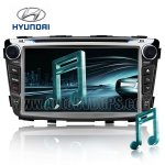 7 Inch HD Touchscreen DVD GPS Navigation Player with PIP RDS iPod V-CDC for 2010 2011 HYUNDAI ACCENT
