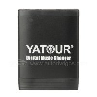 Yatour 8 Pin Car Digital Music Changer with USB SD MP3 + Bluetooth (optional) for VW SKODA AUDI