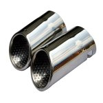 Chrome Exhaust Muffler Tip For Vw Eos Passat CC 2008-2012