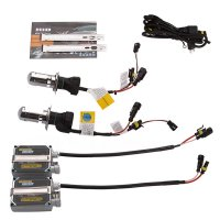 HID Xenon Headlight Conversion Kit with 8000K 35W, Hi Lo Moving Bulb