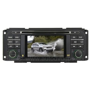 1999 - 2004 Jeep Grand Cherokee, Dodge, Chrysler Car DVD Player with in-dash Navigation System