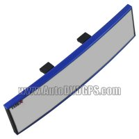 TYPE-R In-car Rearview curved Mirror TR-046 blue color